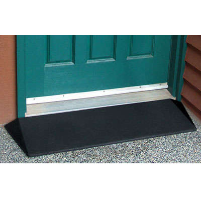 "Ez Access 1.5"" Rubber Threshold Ramp"